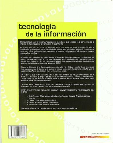 TECNOLOGIAS DE LA INFORMACION - 9788448146900