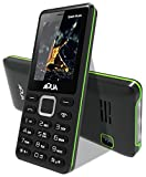 #6: Aqua Spark Music - 3000 mAh Battery - Dual SIM Basic Mobile Phone - Black