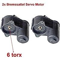 2pcs Pinza de freno trasero Servo Motor 6TORX 3C0998281b 3C0998281b un SK