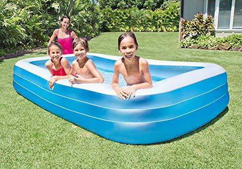 Intex Swim Center Family Pool - Kinder Aufstellpool - Planschbecken - 305 x 183 x 56 cm - Für 6+ Jahre
