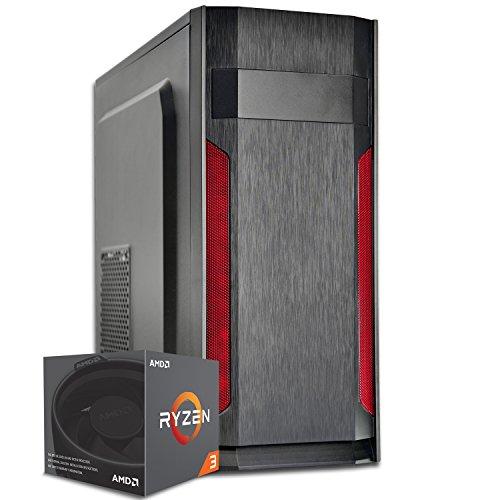 PC DESKTOP GAMING START▬DILC AVIOR▬ASSEMBLATO COMPLETO▬COMPUTER FISSO Am4 QUAD-CORE RYZEN 3 2200G fino a 3.5 GHZ▬SK VIDEO INTEGRATA RX VEGA 8▬RAM DDR4 8GB▬HDD 1TB▬450W 80+