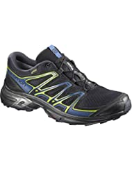 Salomon Wings Flyte 2 Gtx, Zapatillas de Running para Asfalto para Hombre, Azul (Night Sky/Snorkel Blue/Graphite), 45 EU