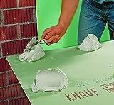 Knauf Perlfix Ansetzgips für Trockenbau – Montage-Kleber, anmach-fertiger Gipsplatten-Kleber mit gutem Haftvermögen für optimalen Halt im 10 kg Sack