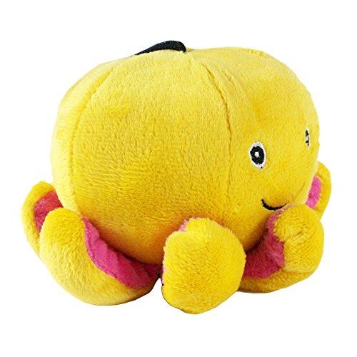 jianfeng Pet Spielzeug Octopus Form Plüsch Spielzeug Puppy Hund kauen Zahnen Zahnreinigung Spielen Spielzeug