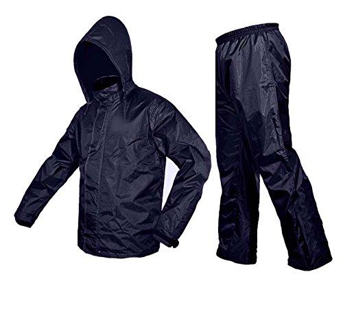 Zavia Premium Plain Rain Coat (XXL- Free size) Blue