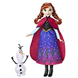 Disney Frozen - Bambola Northern Lights Anna & Olaf  , B9200ES0
