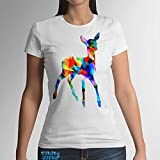 Roe deer short sleeved fashion women's t-shirt 100% - Best Reviews Guide