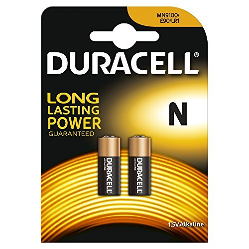 Duracell N Lr1 Mn9100 Alkaline-Batterien Micron Fox, 4 Stück