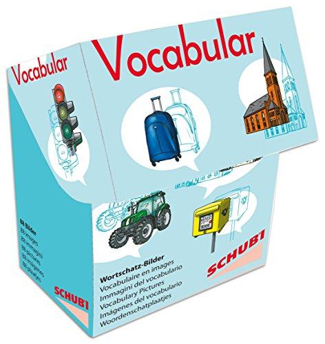 Schubi Vocabular Wortschatzbilder: Fahrzeuge, Verkehr, Gebäude