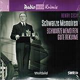 Radio Krimis - SCHWARZE MEMOIREN Gute Reklame / Mund Halten, Bogg / etc. - 3 CDs