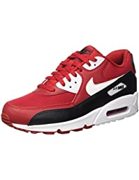 size 40 5820b 9ed31 Nike Air Max 90 Essential, Baskets Basses Homme, White White White 100, 47.5
