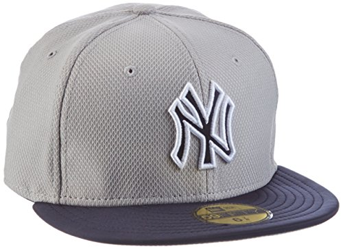 New Era cappello Yankee Diamond Reverse 59-Fifty Grigio grigio 7.625
