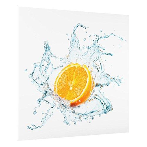 Bilderwelten Panel antisalpicaduras cristal - Fresh