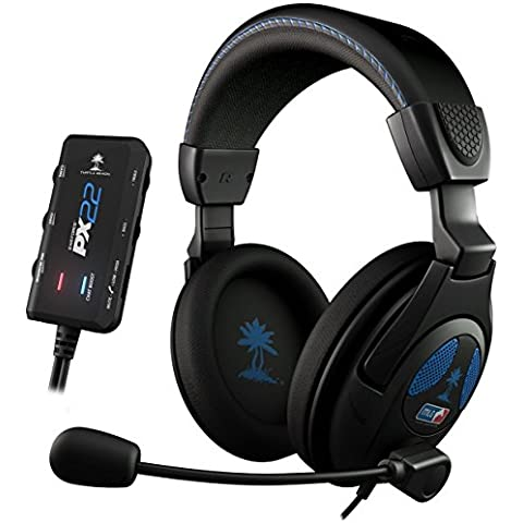 Turtle Beach - Auriculares Ear Force PX22, Con Cable, MLG Licensed, Color Negro (PS3, PS4, Xbox