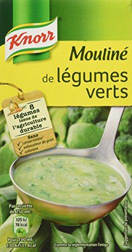 Knorr Soupe Mouliné de Légumes Verts 50 cl - Lot de 6