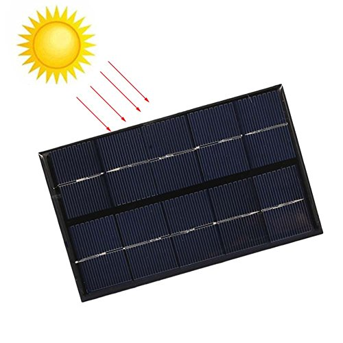 Cutogain Portable 2 W 5 V USB Solar Panel Ladegerät USB-Port für Mobile Phone Travel