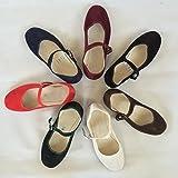 Chinaschuhe Schuhe Samtschuhe in verschiedenen Farben weiß Größe 35