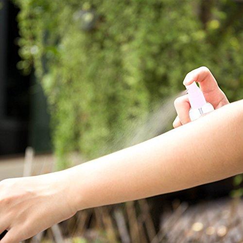 Zerstäuber durchsichtig leere sprühflasche nachfüllbar Feinen Nebel parfümzerstäuber 6 X 50 ml
