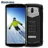 Robustes Handy, Blackview BV5800 (2018) IP68 Wasserdichtes Staubdicht Stoßfestes Dual LTE 4G Smartphone, 5580mAh Große Batterie & 5A/2A Schnellladung,Android 8.1 Oreo...