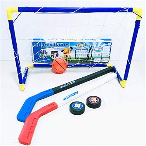 better daily life Kinder Spielzeug Fussball Eishockey Bandy Kickback Fußballtor und Pitch zurück Kinder Sport Ausrüstung im freien Funktionelle Sport Spielzeug Set -