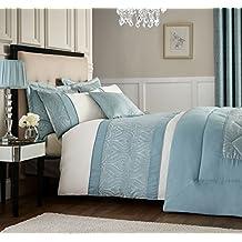 couvre lit bleu canard. Black Bedroom Furniture Sets. Home Design Ideas