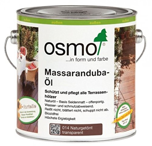 OSMO Massaranduba-Öl 014 Naturgetönt seidenmatt 2,5L
