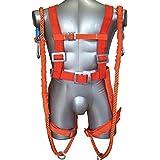 enshey 5 punto cuerpo completo equipo de protección arnés, Busto de cinturón de seguridad para