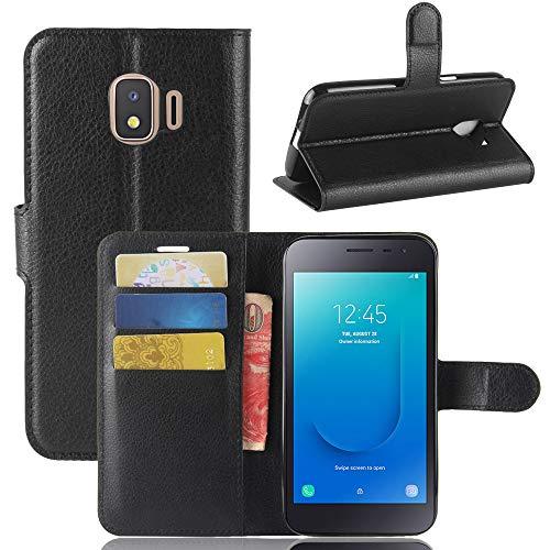 AIOIA Hülle für Samsung Galaxy J2 Core,PU Leder Hülle Tasche Schutzhülle Handyhülle für Samsung Galaxy J2 Core