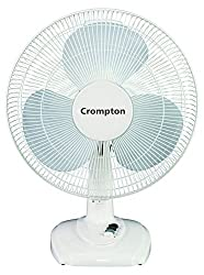 Crompton HIGH FLO FT40-10 EVA 400MM Table Fan (Light Grey)