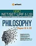 UGC NET/SET (JRF & LS) - PHILOSOPHY Paper II & III