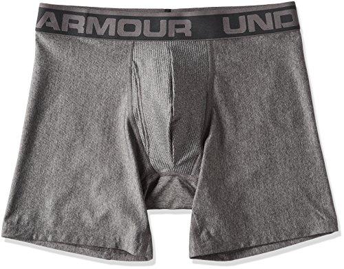 Under Armour Herren Sportswear the Original 6 Zoll Boxerjock Unterhose, Carbon Heather, L