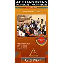 Afghanistan, Pakistan, Tajikistan : 1/3 000 000