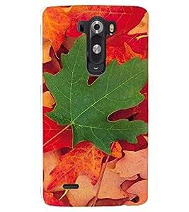 PRINTSHOPPII LEAVES Back Case Cover for LG G2::LG G2 D800 D980