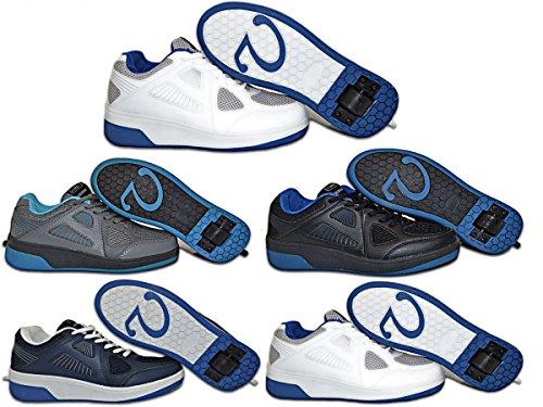 Elara, Sneaker bambini Grigio (Weiß-Grau)