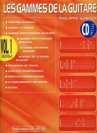 Gammes Guitare Vol 1 CD