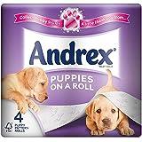 Chiots Andrex Sur Un Rouleaux De Papier Rouleau De Toilette - 210 Feuilles Par Rouleau (4)