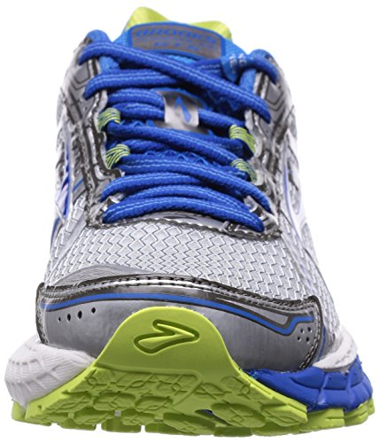 Brooks Adrenaline Gts 15, Chaussures de Running Femme Blanc (weiß/blau/gruen 179)