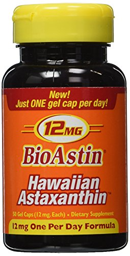 Nutrex Hawaii: BioAstin Hawaiian Astaxanthin 12 mg, 50 caps (2 pack)