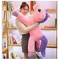 Besties Big Size Funny Unicorn Stuffed Animal Plush Toy, 100CM (Pink) Made in India