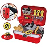 Toy Arena Tool Set Toys For Kids, (Set Of 25 Pcs) Pretend PlaySet, Little Engineer Pretend Toolbox Construction Tools, Role Play Engineer Workshop Tool Kit