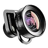 Apexel 2IN1 Obiettivo per Fotocamera Cellulare-Obiettivo Macro 10X + Obiettivo grandangolare 120 Gradi per iPhone 11 / 11pro Samsung Galaxy S10 / S10 più Huawei e la Maggior Parte degli Smartphone