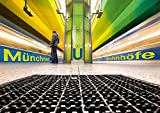 Münchner U-Bahnhöfe (Tischaufsteller DIN A5 quer): Münchner U-Bahnhöfe