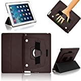 Apple iPad Air , Gorilla Tech Protective Case with Elastic Hand Strap, Stand and Detachable Front Panel for convenient use, for iPad Air (5th Generation), (Brown)