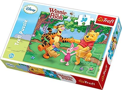TREFL 5900511181050 Puzzle Puzzle - Rompecabezas (Puzzle Rompecabezas, Dibujos, Niños, Winnie The Pooh, Niño/niña, 3 año(s))