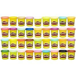 Hasbro Play-Doh-Play-Doh Mega Pack da 36 Vasetti, 36834F02