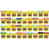 Play-Doh - Pate A Modeler 36 pots- Couleurs Multiples - 112 grammes