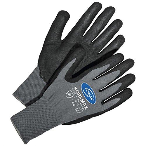 Schutzhandschuhe Präzisionshandschuh Handschuhe Kori-Max grau-schwarz - Größe 11