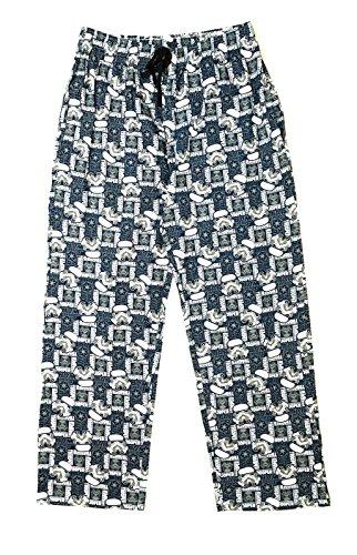 Pantalones largos de pijama para hombre y niño, diseño de personajes de cómic y dibujos animados, tallas S a XL Blanco Star Wars - Storm Trooper Lounge Pants M