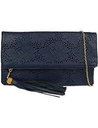 Girly Handbags - Cartera de mano de Material Sintético para mujer