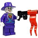 LEGO Super Heroes: Minifigur Joker mit lila Hut und Waffe